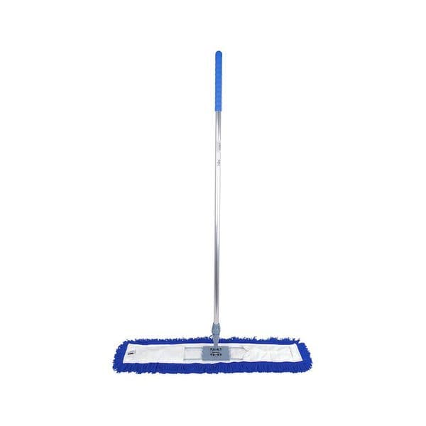 Dust Control Sweeper Mop Kit Complete 40cm Blue, Green, Red, Yellow